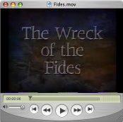 The wreck of the Fides